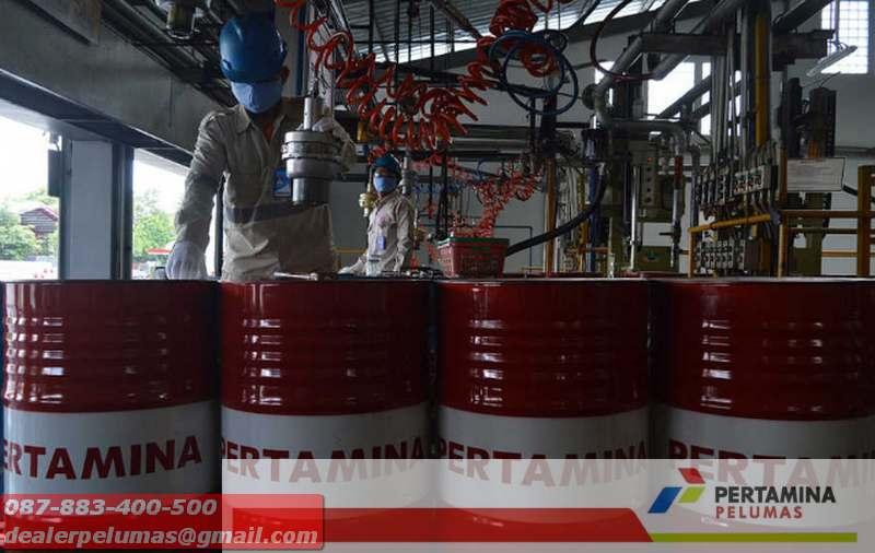 Pabrik Pelumas Pertamina Lubricants